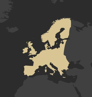 Veolia Business map of Europe