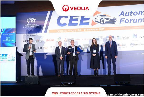Award in the CEE Automotive Forum